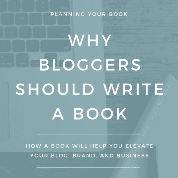 Bloggers, learn why you are in the perfect position to write a profitable book or eBook.