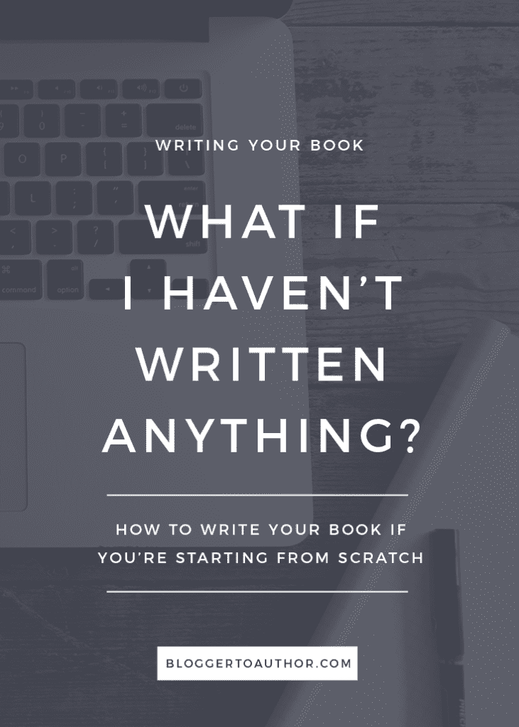 So you'd love to become an author. You know what you want to write about, but you're totally starting from scratch. Here's how you should get started.
