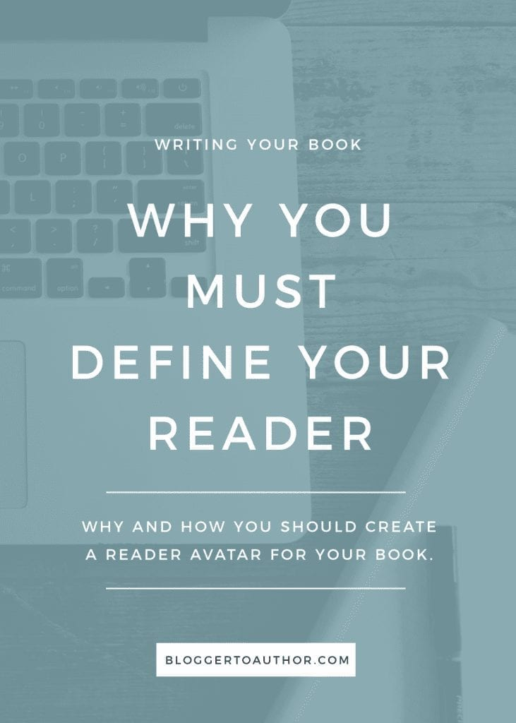Why and how you should create a reader avatar for your book.