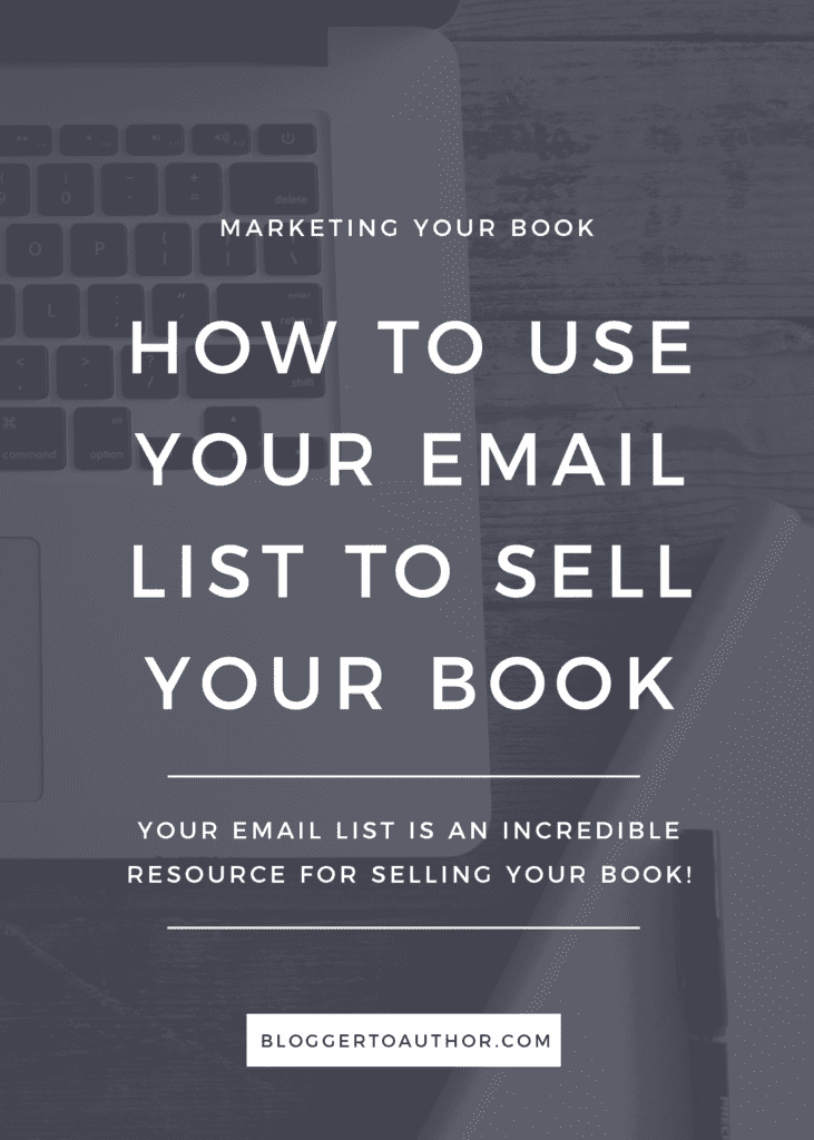 Utilize one of your most powerful assets to promote your book! Learn how you should use your email list to advertise your book.