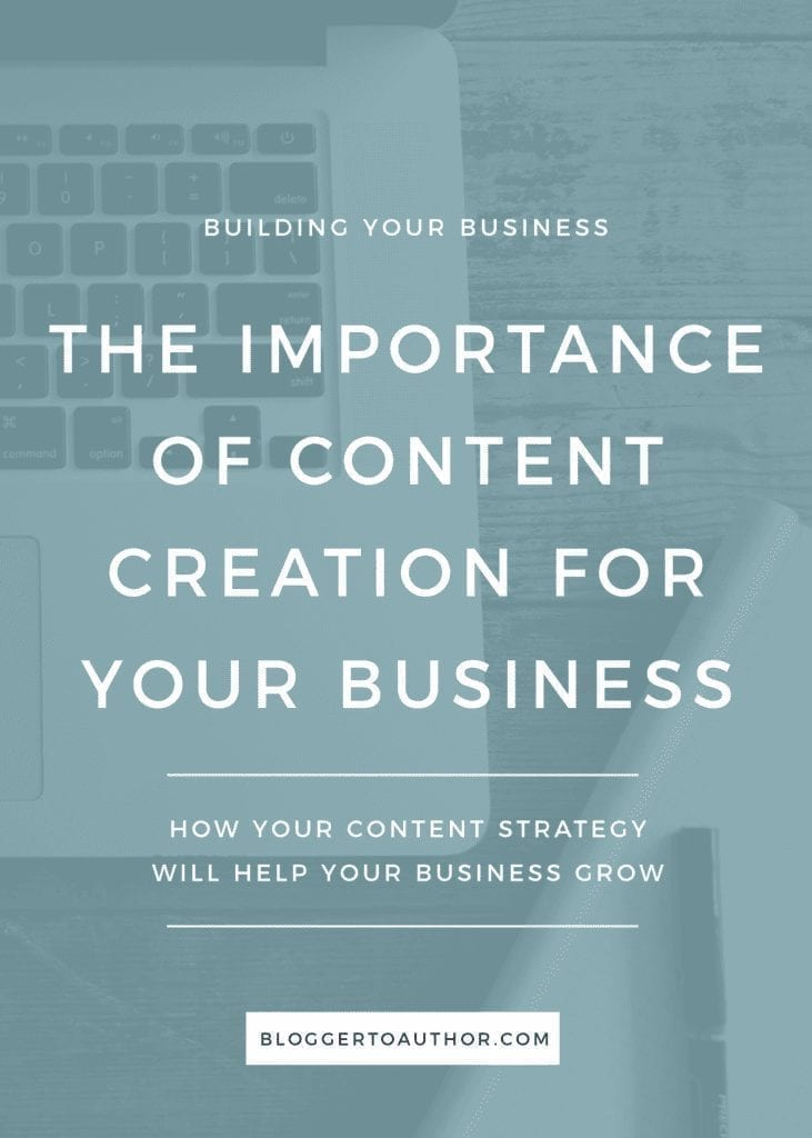 Content truly is king when it comes to standing out in your niche market. Learn why content creation can be the key to success for your blog or business.