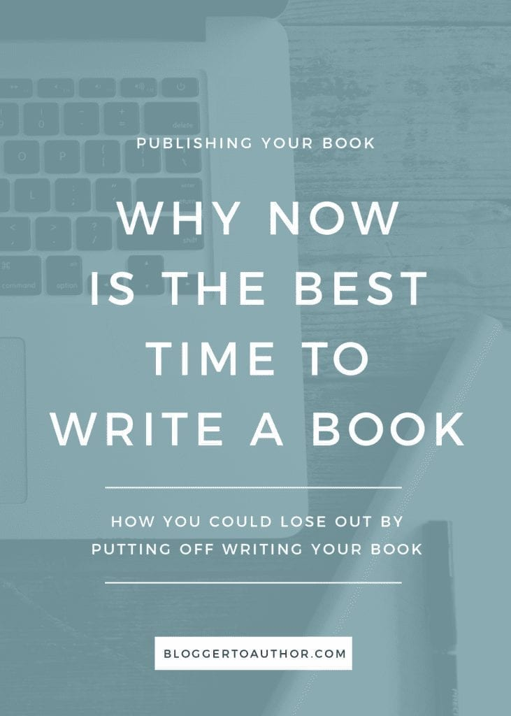 Why now is the best time for content creators and business owners to write a book