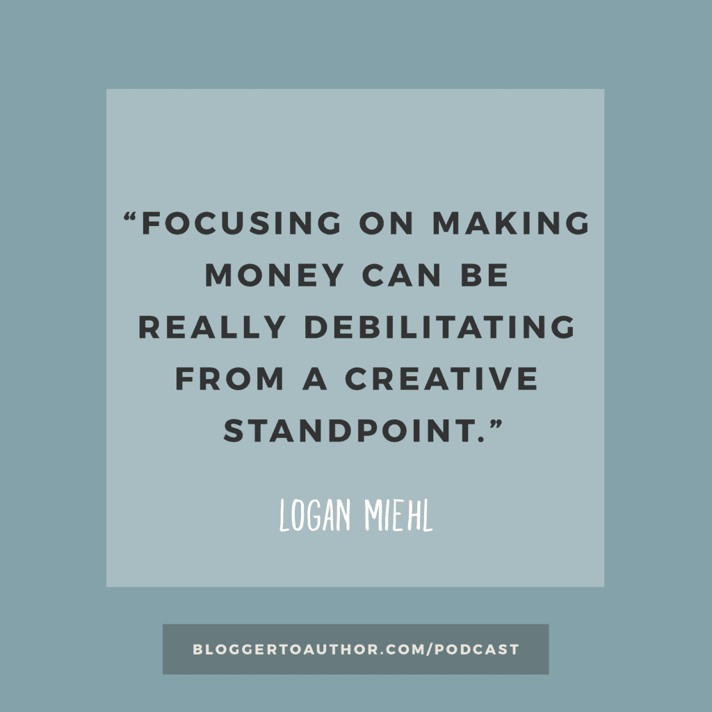 Learn all about finding your creative flow and becoming a better writer with author Logan Miehl in Episode 17 of the Blogger to Author Podcast.