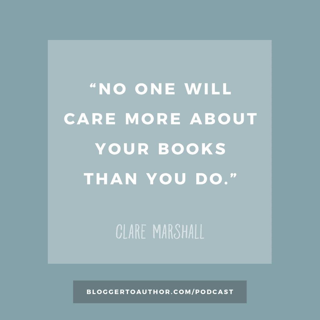 Blogger to Author Podcast Episode 26: The Importance of Book Design with Clare Marshall