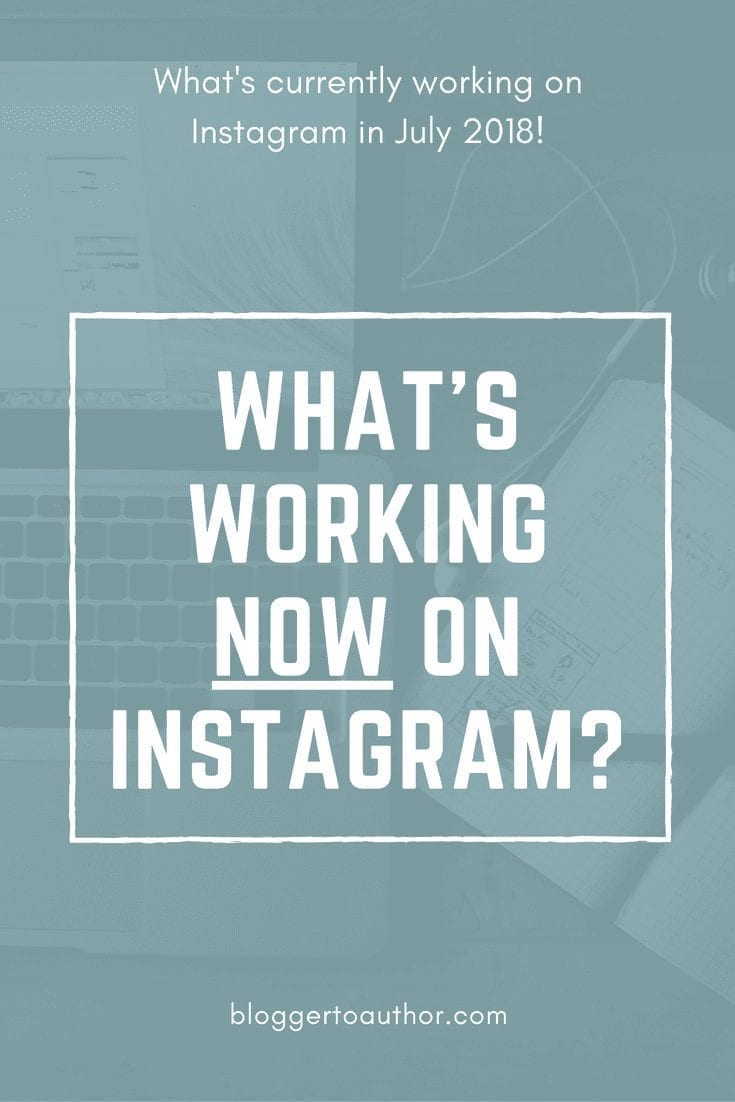 Learn what's working on Instagram in late 2018.