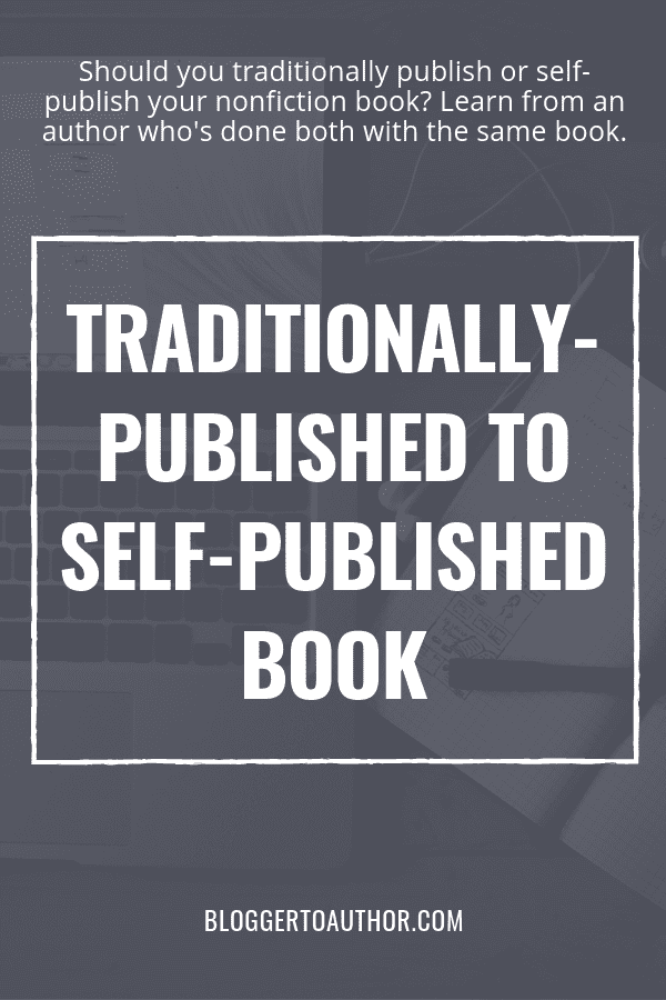 Should you traditionally publish or self-publish your nonfiction book? Learn from an author who's done both with the same book. Plus, get some great publicity tips and media tips, too!
