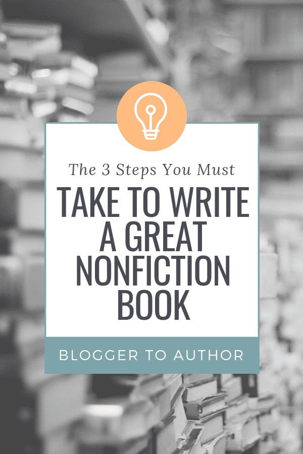 The Fast Author Framework helps you plan a nonfiction book your readers will love in 3 easy steps!